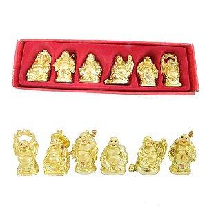 Caixa com 6 Budas
