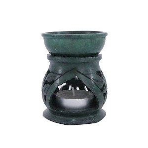 Rechô Pedra Sabão - Verde Escuro