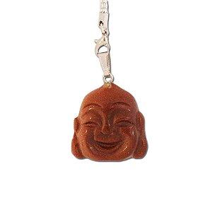Pingente de Buda em Pedra Do sol