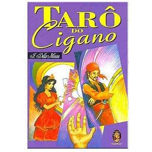 Tarô Do Cigano Edição Especial - Com 36 Cartas Coloridas