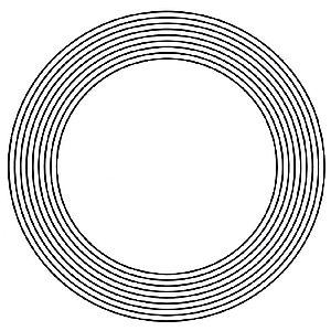 Gráfico Nove Círculos  6 x 6