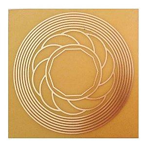 Trígono Protetor (misto nove círculos) - Fenolite