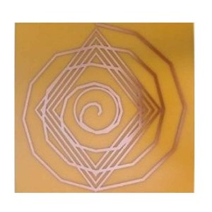 Gráfico Espiral Cósmica - Fenolite