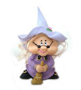 Bruxa Vovó Nana - Lilás