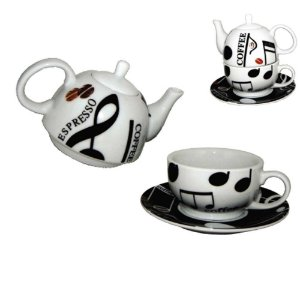 Caneca Chá Infusão Coffee