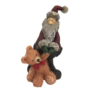 Papai Noel com Urso
