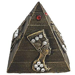 Pirâmide Resina com Strass M