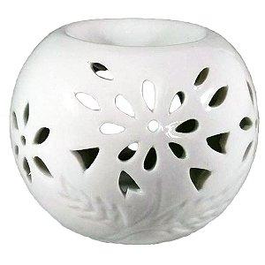 Rechô de Flores Vazadas Cerâmica