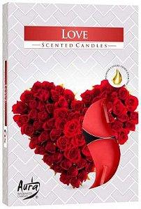 Vela T'Light Aroma Amor