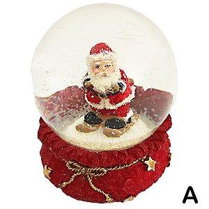 Papai Noel com Neve
