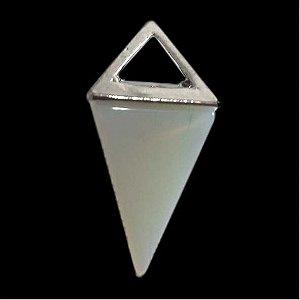 Pingente Opalina (pedra da lua)