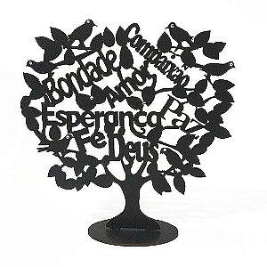Árvore Palavras em MDF
