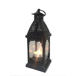 Porta vela lanterna arabesco