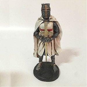 Cavaleiro Templário com Capa
