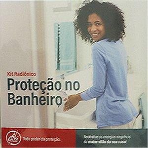 Kit Radiônico - Proteção no Banheiro