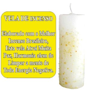 Vela Com Incenso