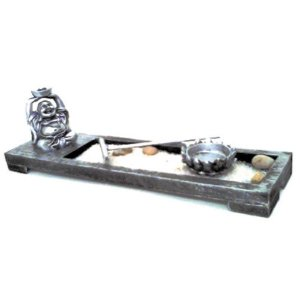 Jardim Zen incensário com Mini Buda