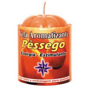 Vela Aromatizante Pêssego