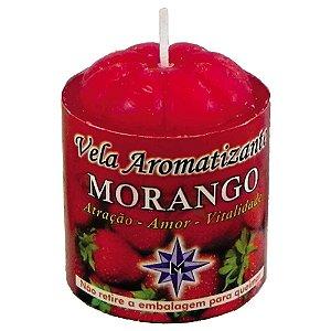 Vela Aromatizante Morango