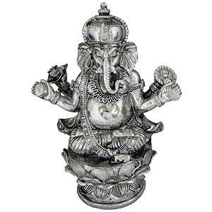 Ganesha Espelhado Resina