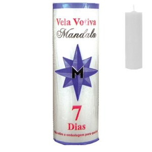 Vela Votiva 7 dias Branca