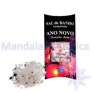 Sal de Banho Aromatizado - Ano Novo - Com Talismã - 100g