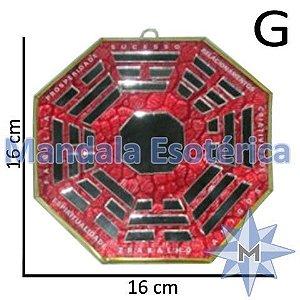 Bá-guá Espelhado Vermelho G
