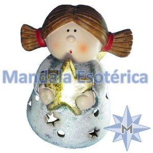 Anjo Porta Velas Natal