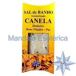 Sal de Banho Aromatizado Canela - 100g