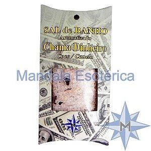 Sal de Banho Aromatizado - Chama Dinheiro - 100g