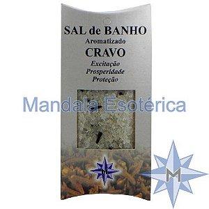 Sal de Banho Aromatizado Cravo - 100g