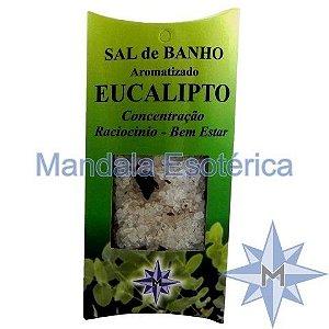 Sal de Banho Aromatizado - Eucalipto - 100g