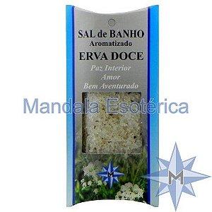 Sal de Banho Aromatizado - Erva Doce - 100g
