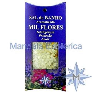 Sal de Banho Aromatizado - Mil Flores