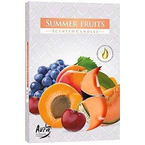 Vela T'Light Aroma Frutas Do Verão