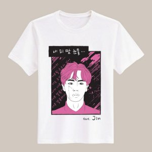Camiseta Blood, Sweat & Tears - Jin