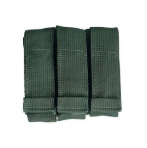Porta Carregador de Pistola Modular TRIPLO Verde Oliva - WWART TACTICAL