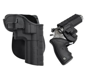 Coldre de Cintura Para Revolver 38 6 Tiros em Polímero Bélica