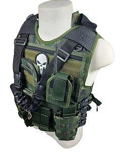 Colete Tático Modular Camuflado Exército Brasileiro - EB