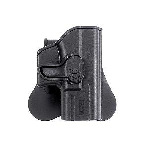 Coldre de Polimero Glock® Subcompact G26, G27, G28 e G33