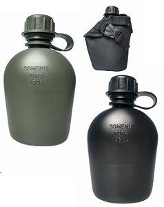 Cantil Militar em Plástico Rígido + Capa Térmica