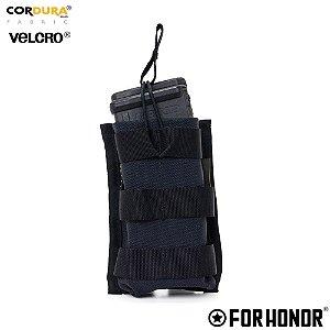 Porta Carregador Duplo de Fuzil Molle Forhonor - Black