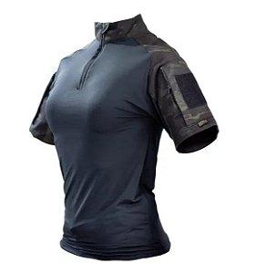 Combat Shirt Feminina Multicam Black Safo Militar