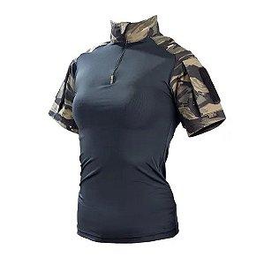 Combat Shirt Feminina Tiger Jungle Safo Militar