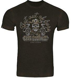 Camiseta T-Shirt Invictus Concept Get Out