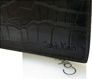Carteira Calvin Klein Masculina Texturizada