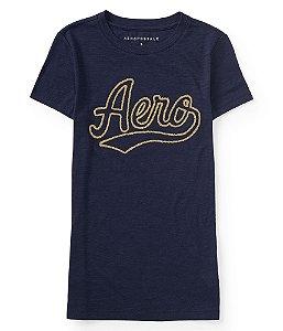 Camiseta Aeropostale Feminina Strass