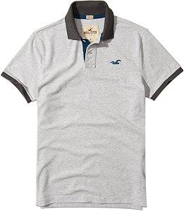 Camisa Polo Hollister Masculina básica