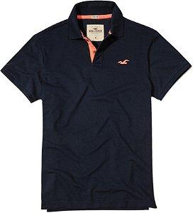 Camisa Polo Hollister Masculina