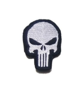 Patch Justiceiro Bordado